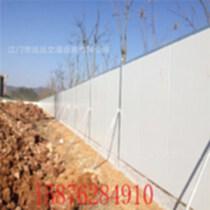 房地產樓盤施工圍擋彩鋼夾心泡沫圍擋工程施工隔離圍擋