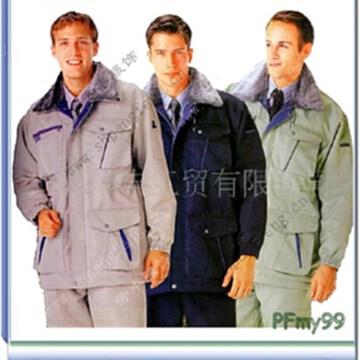 供應冬季工作服 廠服,防寒服 上海棉衣棉襖工作服