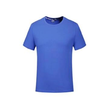 夏季短袖工服上衣T恤萊卡棉透氣吸汗廣告衫車間團體服裝定制logo